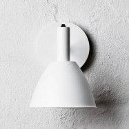 Bauhaus 90W Vägglampa Vit - Lumini