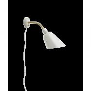 Bellevue Vägglampa AJ9 Elfenben Vit & Mässing - &tradition