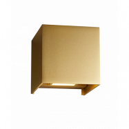 Box XL Vägglampa Guld - LIGHT-POINT