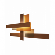Fields Vägglampa Orange - Foscarini
