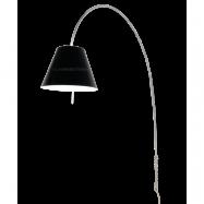 Lady Costanza Golvlampa/Vägglampa - Luceplan (Svart, Alu, Med dimmer)