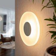 Rund LED-vägglampa Marlit