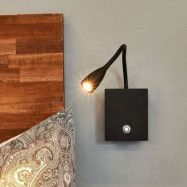 Torin - LED-vägglampa med flexarm, dimbar